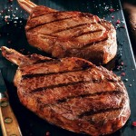 Soy-Marinated Bison Steaks