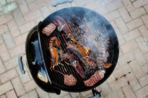 Grilling Surf & Turf from Lobster Gram