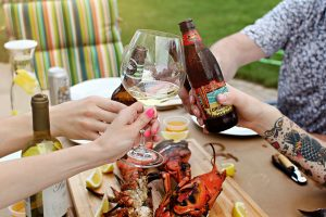 Lobster Gram Feast with Friends