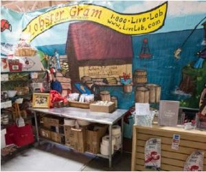 Lobster Gram's Chicago warehouse and corporate. The ocmpany's main distribution center is located in Biddeford, Maine.