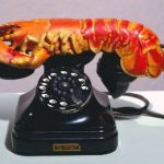 Lobster Art Outside of the Kitchen