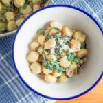 Lobster Gnocchi with Creamy Lobster Sauce