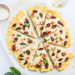 Lobster Pizza with Polenta Crust