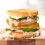 Crab Avocado Grilled Cheese