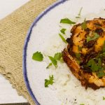 'Pescatarian' Curried Masala King Shrimp with Coconut Rice